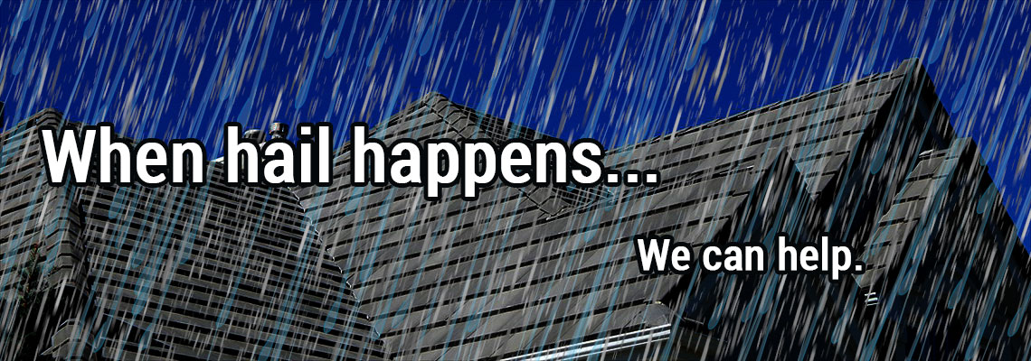 Hail Damage Restoration and Roofing